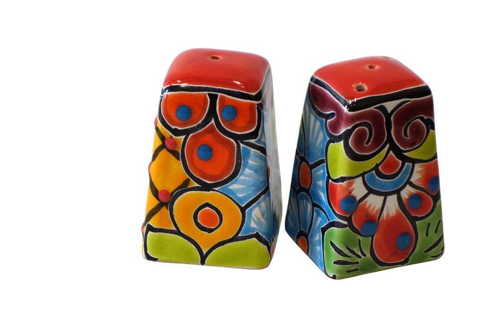 Talavera Salt & Pepper Shakers