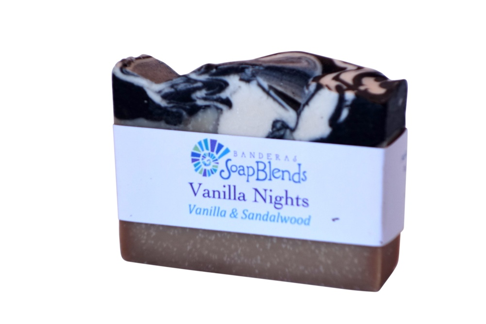 Vanilla Nights Banderas SoapBlends from Mexico