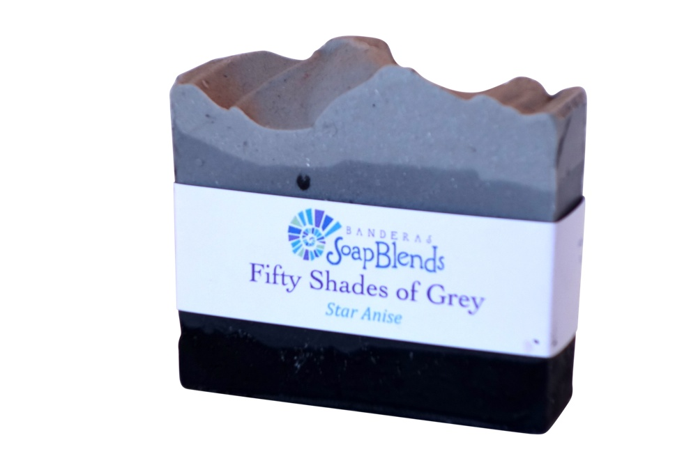 Fifty Shades Of Gray Soap Banderas SoapBlends from Mexico