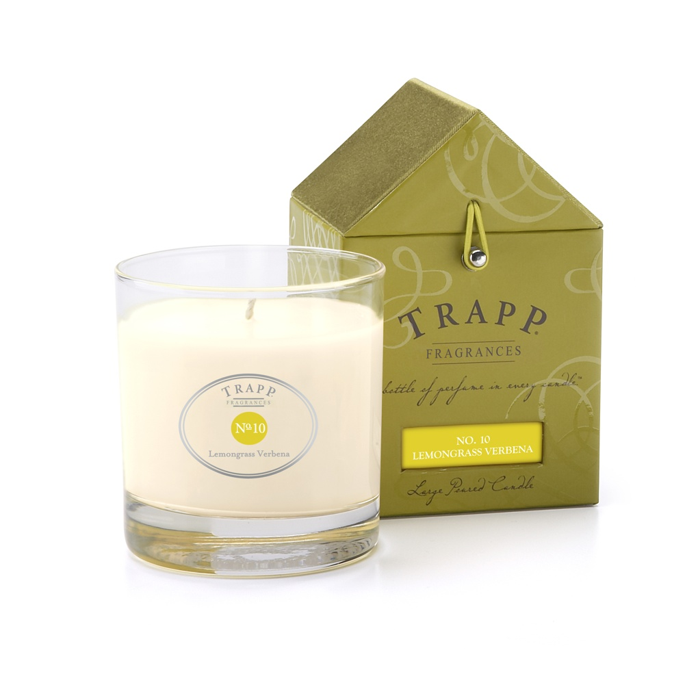 No. 10 Lemongrass Verbena 7 oz Candle