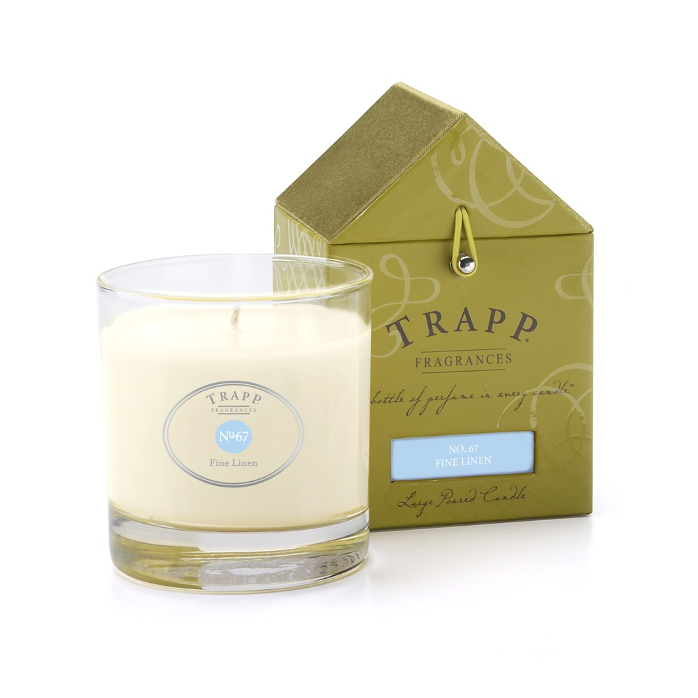 No. 67 Fine Linen 7 oz. Candle