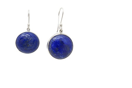 Lapis Sterling Silver Earrings HANG