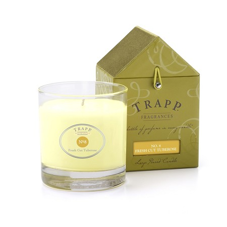 No. 8 Fresh Cut Tuberose 7 oz Candle