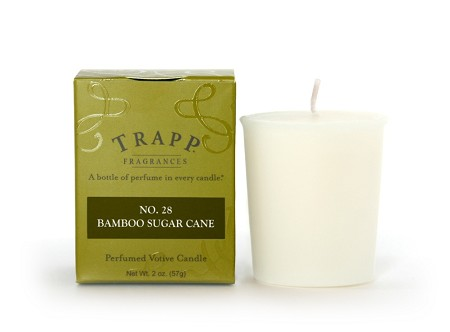 No. 28 Bamboo Sugarcane 2 oz Candle