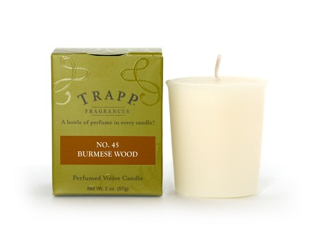 No. 45 Burmese Wood 2 oz Candle