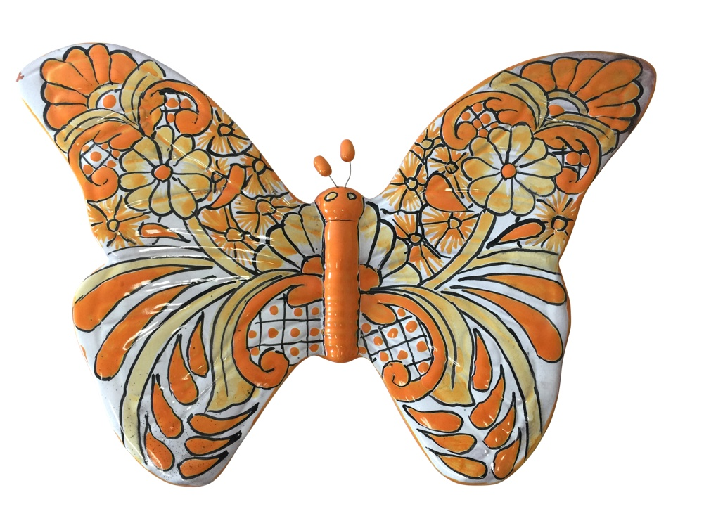 Talavera Butterfly - yellow