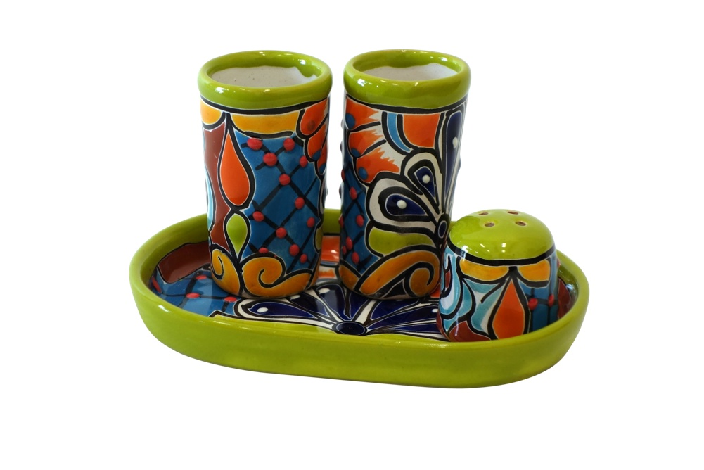 Talavera Tequila Shot Glass Sets