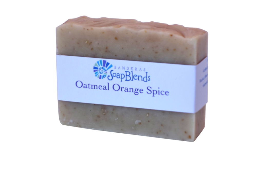 Oatmeal Orange Spice Banderas SoapBlends from Mexico