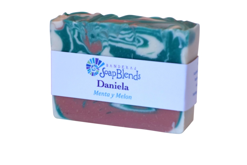 Daniela - Menta & Melon Banderas SoapBlends from Mexico
