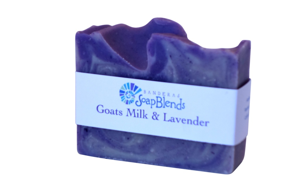 Goats Milk & Lavender Banderas SoapBlends from Mexico