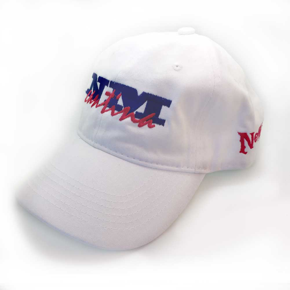 NM-Cantina B-Ball Cap WHITE