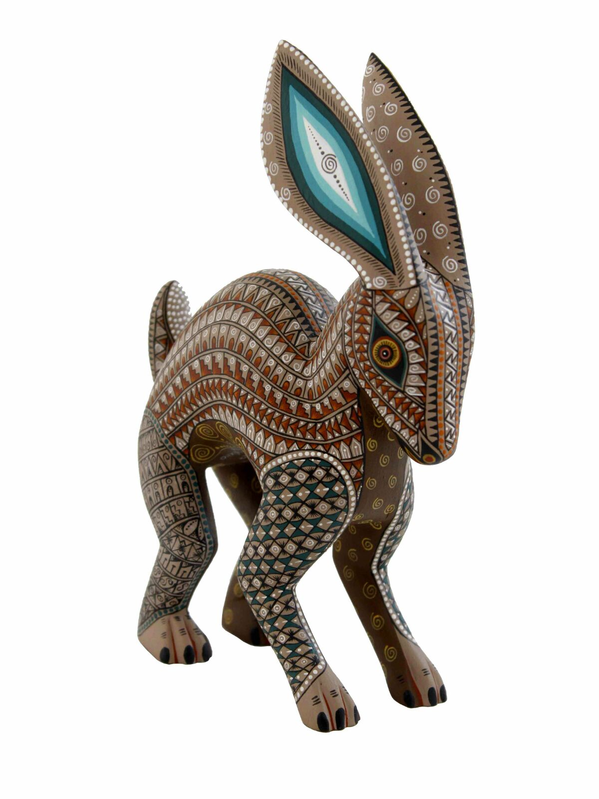Jacobo & Maria Angeles Original Alebrijes Conejo #47, rabbit
