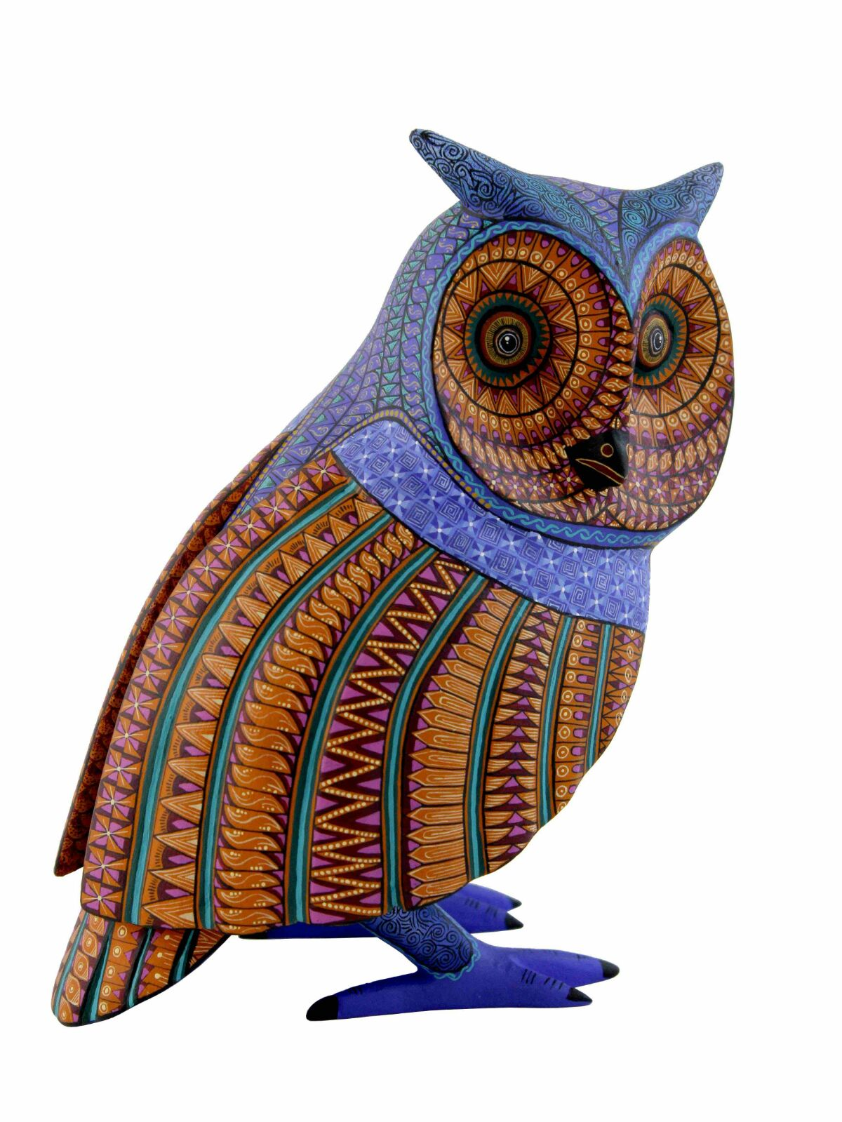 Jacobo & Maria Angeles Original Alebrijes Buho #42, owl