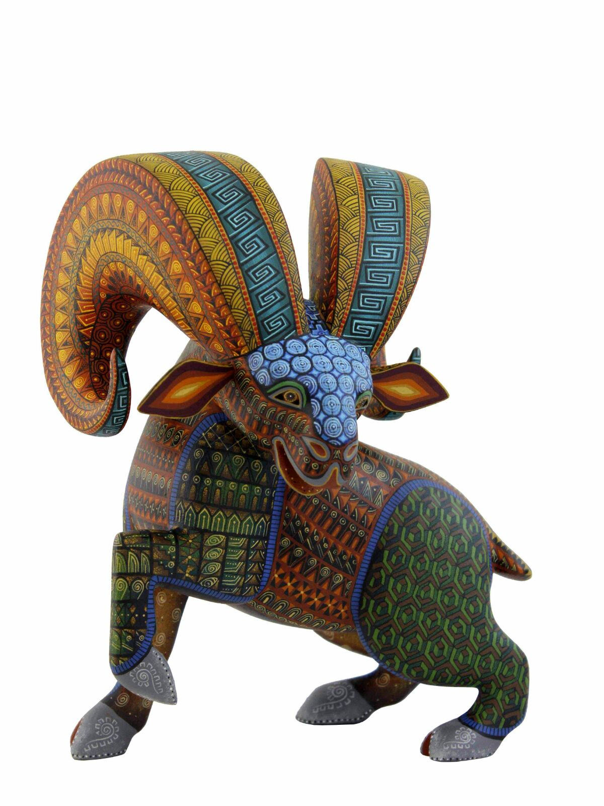 Jacobo & Maria Angeles Original Alebrijes Borrego #7, lamb
