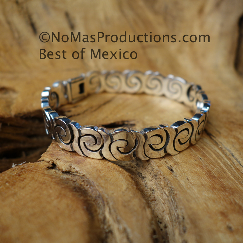 Sterling Silver Bracelet 8.5 inches