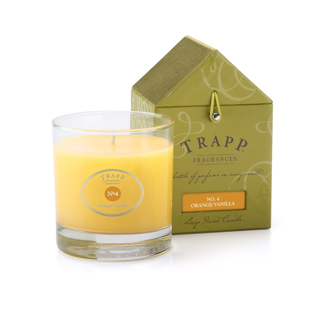 No. 4 Orange / Vanilla 7 oz Candle