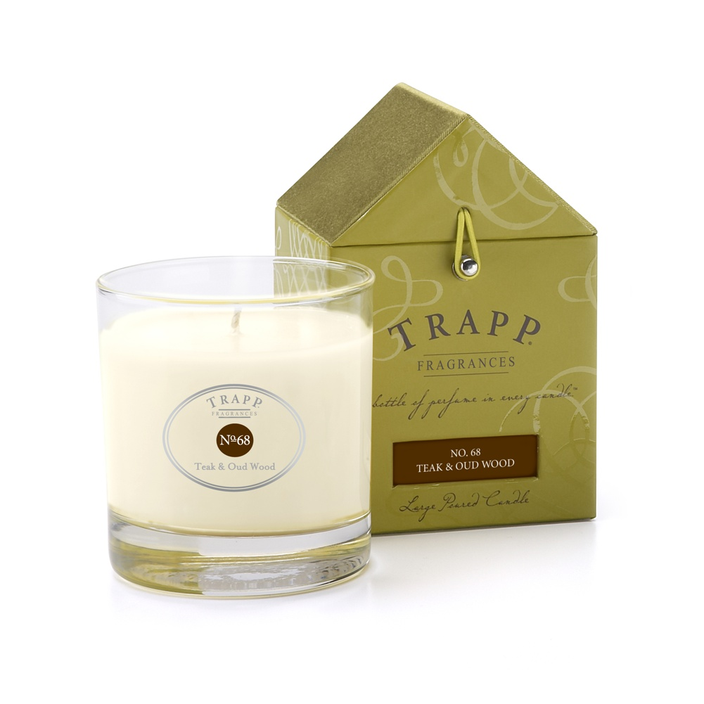 No. 68 Teak & Oud Wood 7 oz. Candle