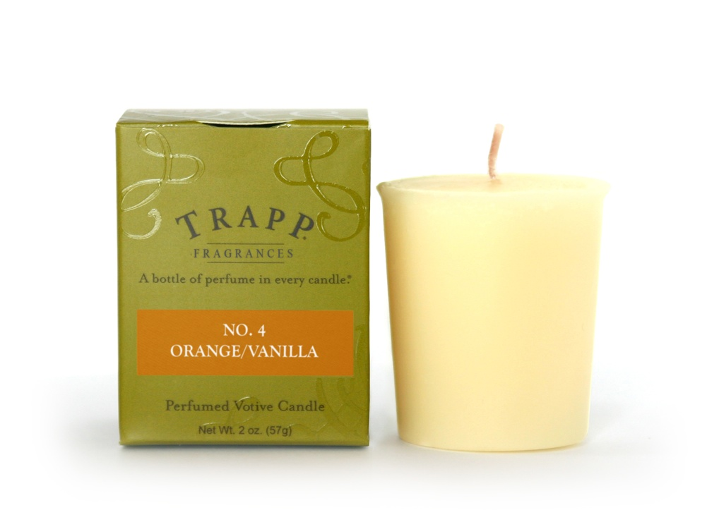 No. 4 Orange / Vanilla 2 oz Candle