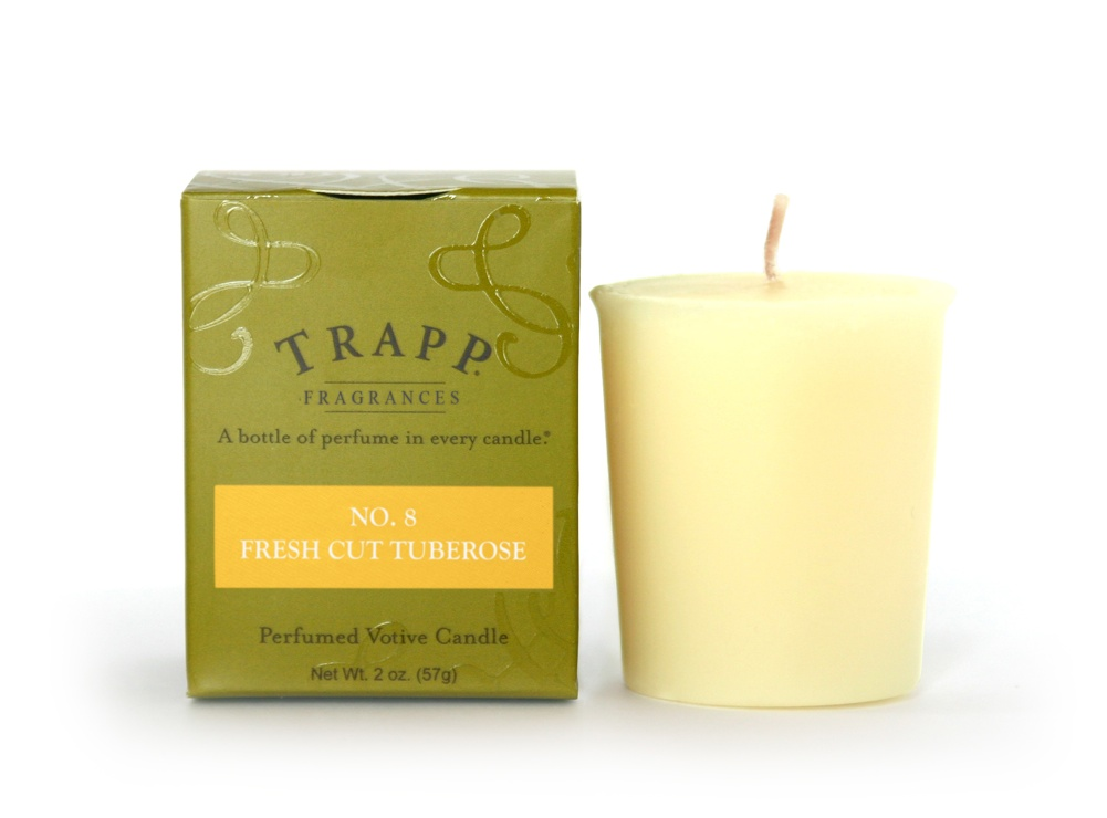 No. 8 Fresh Cut Tuberose 2 oz Candle