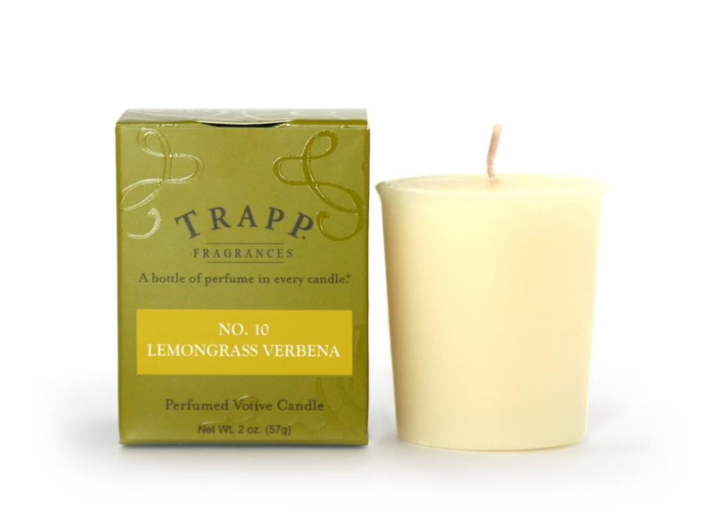 No. 10 Lemongrass Verbena 2 oz Candle