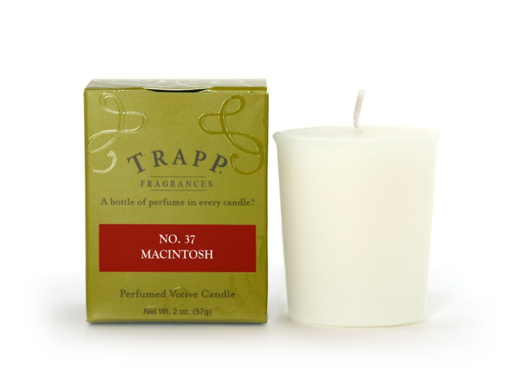 No. 37 Macintosh  2 oz Candle