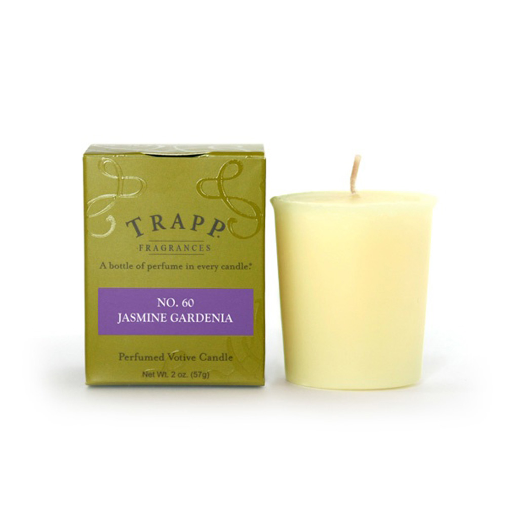 No. 60 Jasmine Gardenia 2 oz Candle