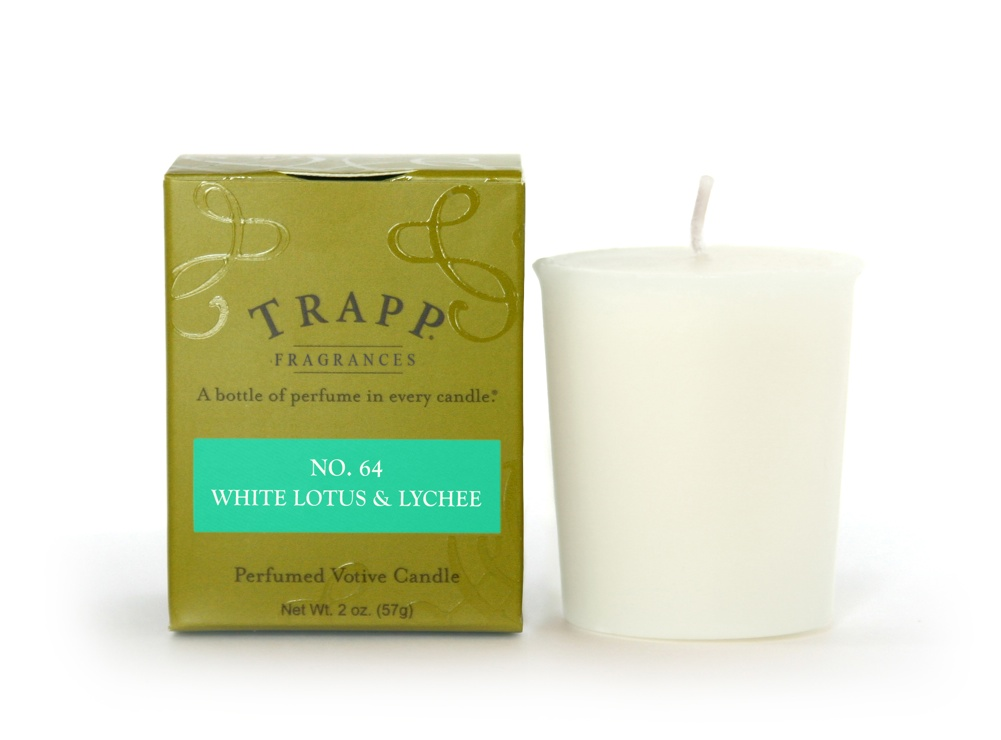 No. 64 White Lotus & Lychee 2 oz Candle