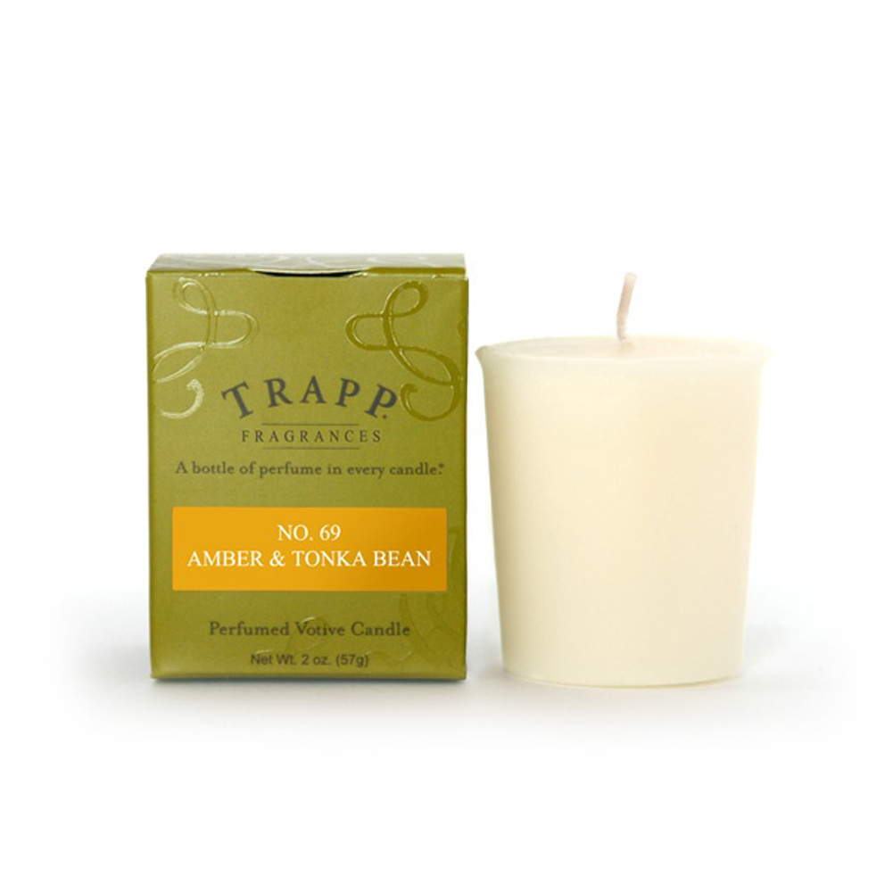 No. 69 Amber & Tonka Bean 2 oz Candle