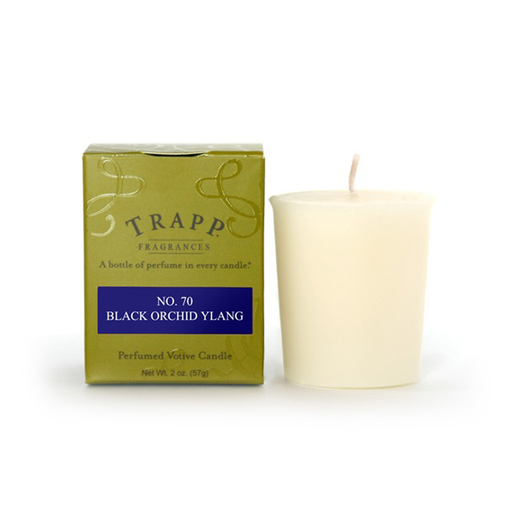 No. 70 Black Orchid Ylang 2 oz Candle