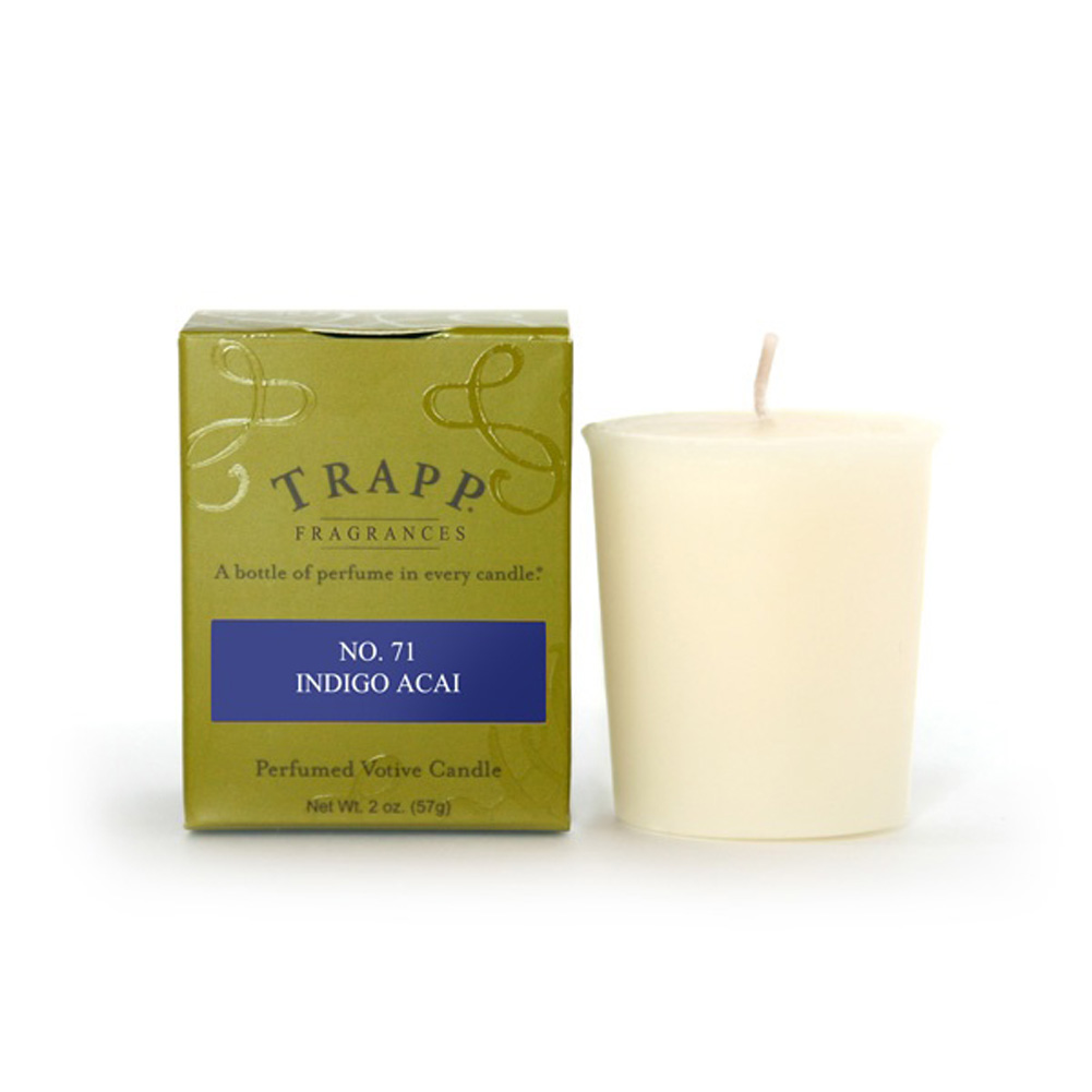 No. 71 Indigo Acai 2 oz. Candle