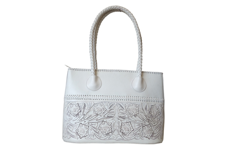COAHUILA GDE Handtooled Leather Handbag16
