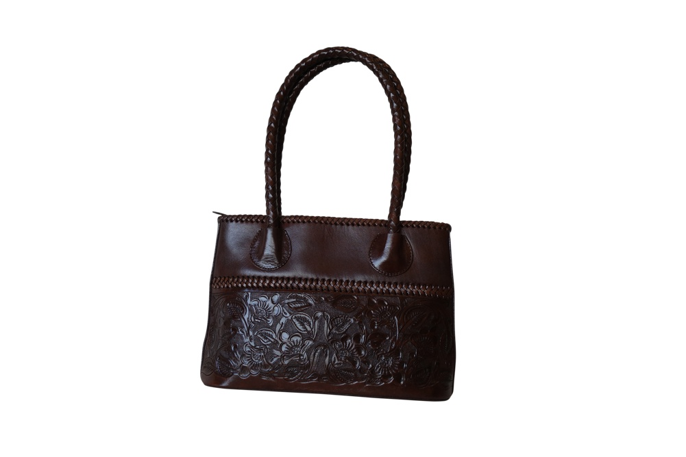 COAHUILA CH Handtooled Leather Handbag14