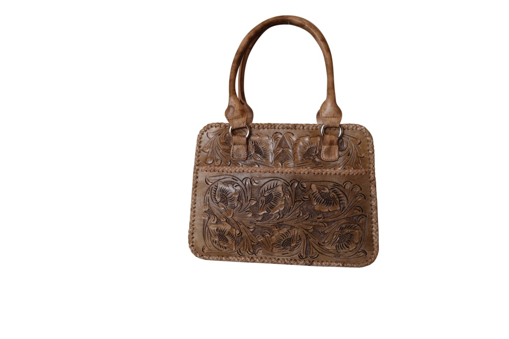 XCARET Handtooled Leather HandbagCrazy Color13
