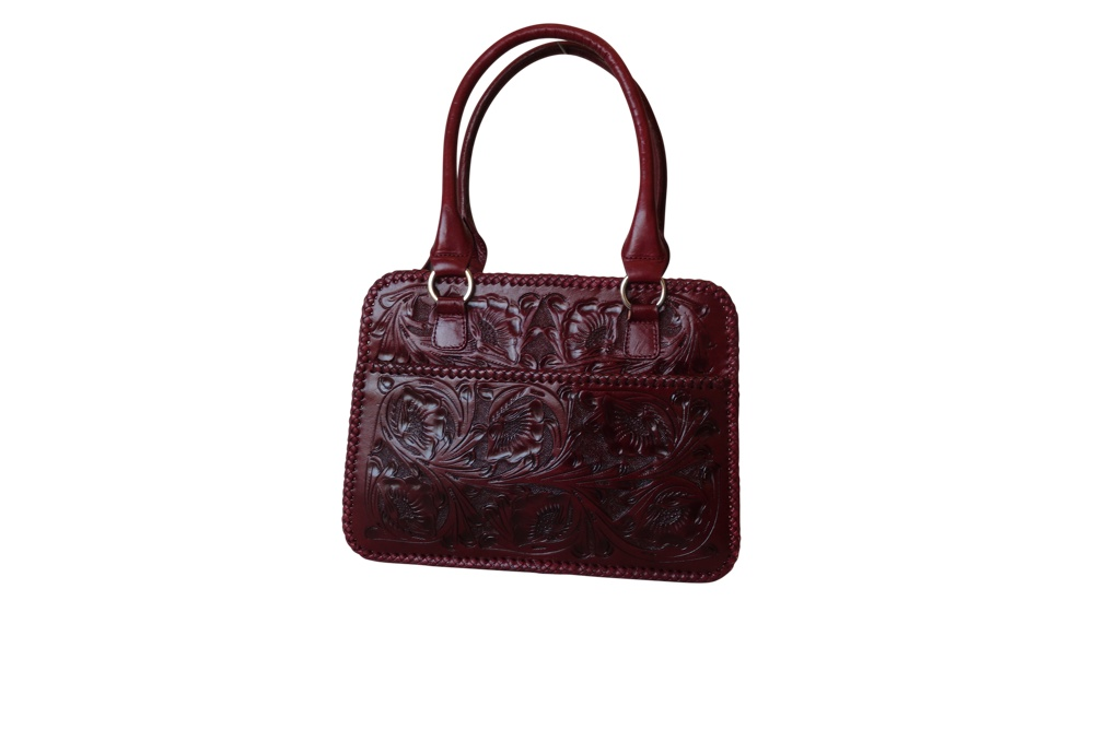 XCARET Handtooled Leather HandbagTinto Color13