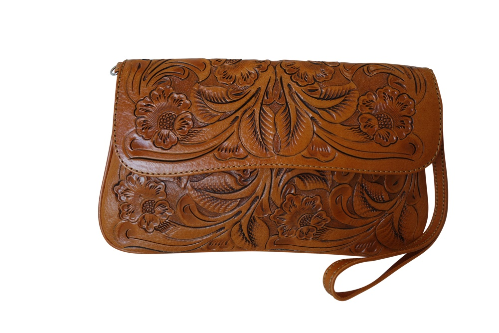 GRANADA Handtooled Leather HandbagBugati Color10