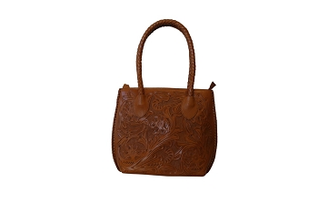 IOWA Handtooled Leather Handbag14
