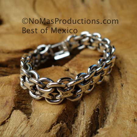 Sterling Silver Bracelet 9.0 inches
