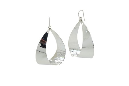 Sterling Silver Earrings 925-HANG