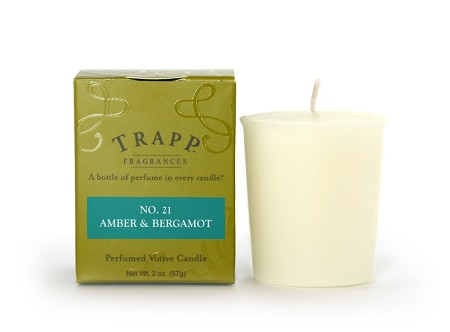 No. 21 Amber & Bergamot 2 oz Candle