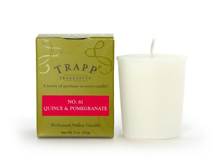 No. 61 Quince & Pomegranate 2 oz Candle
