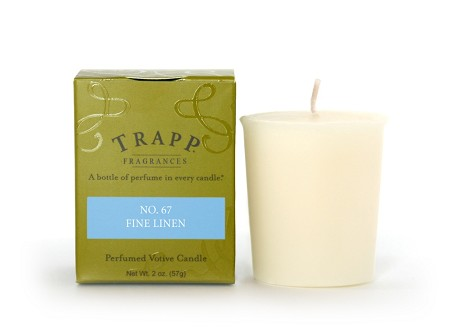 No. 67 Fine Linen 2 oz Candle