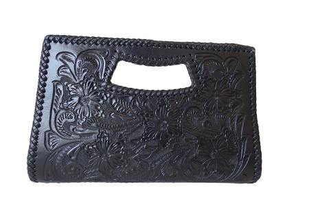 Vallarta Chica Handtooled Leather Handbag